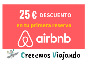 25 descuento airbnb
