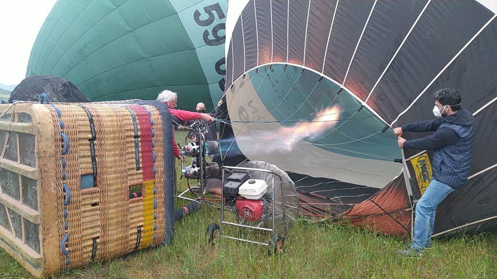 vuelo en globo